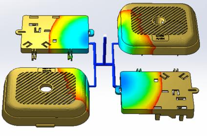樹脂流動解析ソフトウェア|SOLIDWORKS Plastics