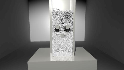 粉と気体の連成解析