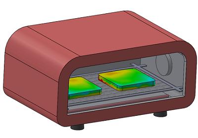 トースターによる焼きムラの検証