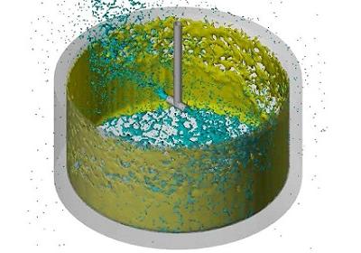 洗浄・乾燥シミュレーション