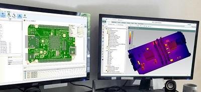 Simcenter FLOEFDによる電子機器の熱解析のページを掲載しました