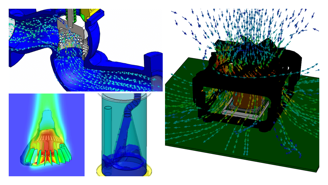 SOLIDWORKS Flow Simulation 豊富な解析機能