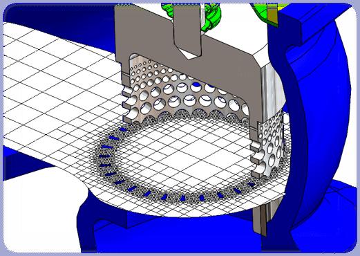 SOLIDWORKS Flow Simulation 設計モデルを忠実に再現するメッシュ